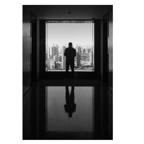 Black and white shot of East Beijing Hotel. Edward, Bishop, Chapters, People, freelance, unit, stills, photographer, portrait, photography, crew, commercials, promos, film, drama