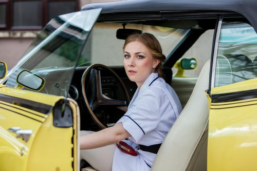 Jessica Preddy in a scene from US drama Suspicion shot in Norfolk in 2016, Edward, Bishop, Chapters, People, freelance, unit, stills, photographer, portrait, photography, crew, commercials, promos, film, drama