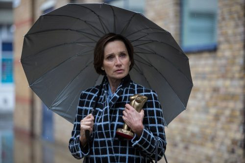 Stills of Kristin Scott-Thomas in comedy drama 'Fleabag' Series 2. Luke, Varley, Chapters, People, freelance, production, unit, stills, photographer, photography, portrait, crew, commercials, promos,