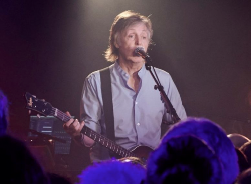 Stills for 'Paul McCartney Live at The Cavern'. Chapters, People, freelance, production, unit, stills, crew, commercials, content, promo, film, drama, tv